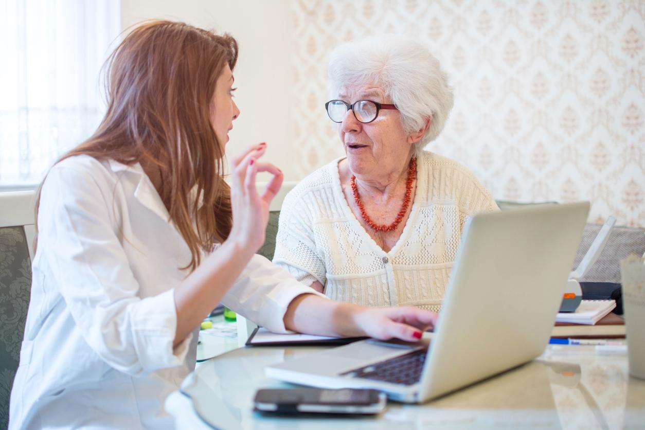Evaluating a senior for home care or home health