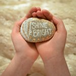 Creating Kindness Rocks with a Palliative Care Patient