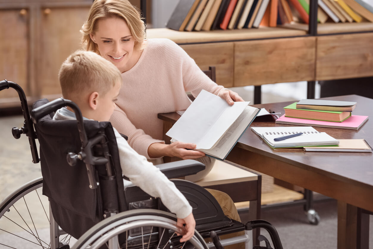 Mother Providing Care while Avoiding Caregiver Burnout