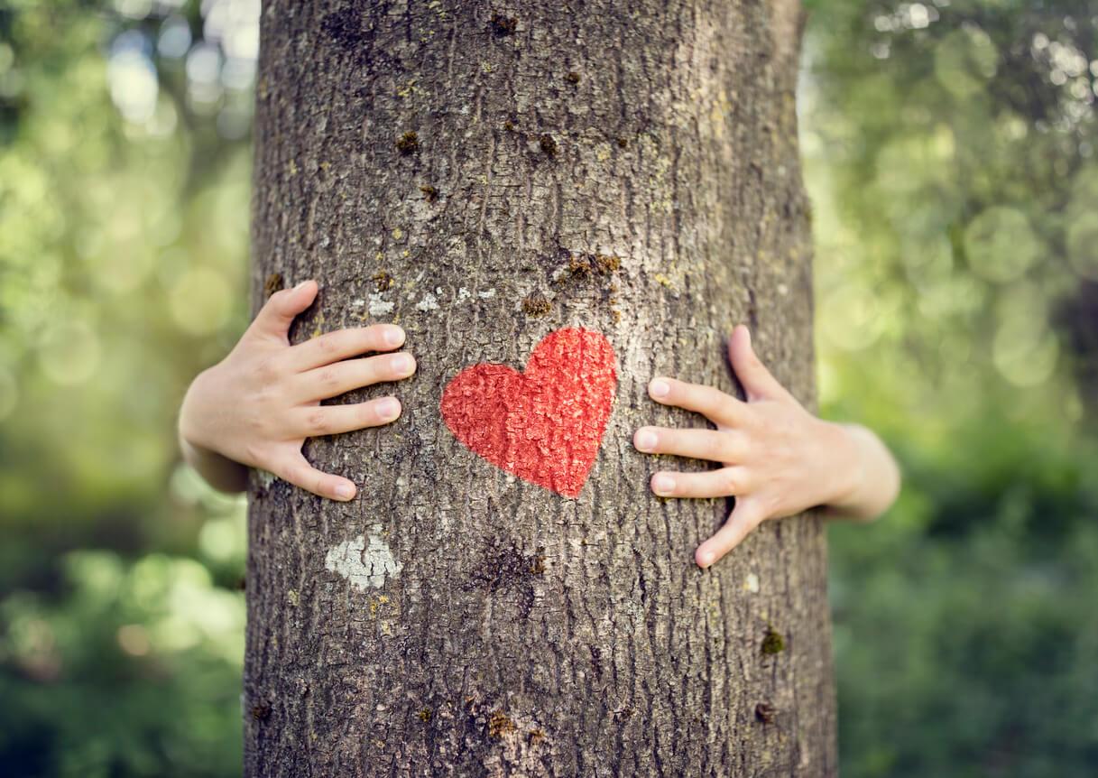grandchild-hugging-tree