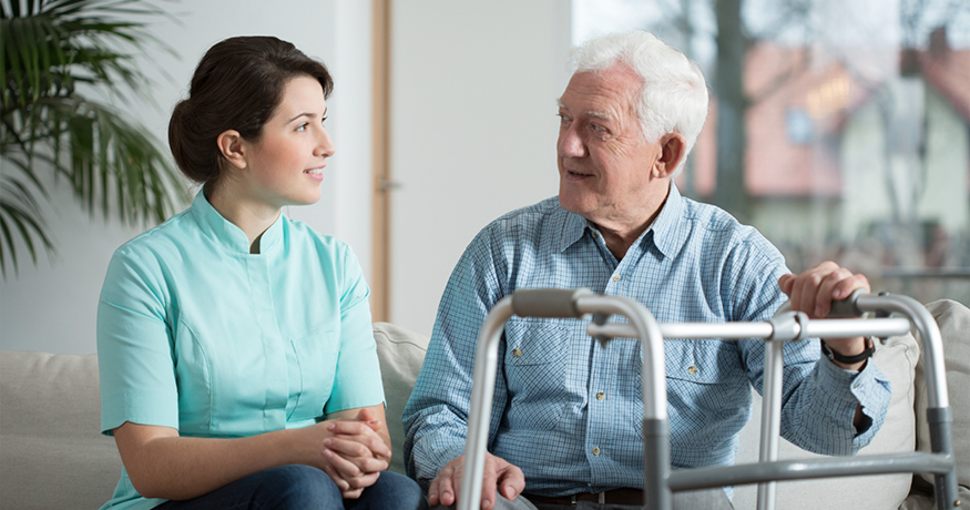 in home long term nursing care Salus Homecare in South Bay, CA
