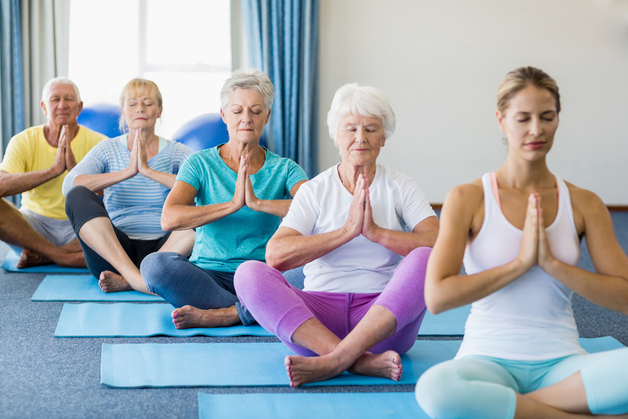 Yoga and Fall Prevention