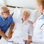 Doctor offers a referral for palliative care to patient